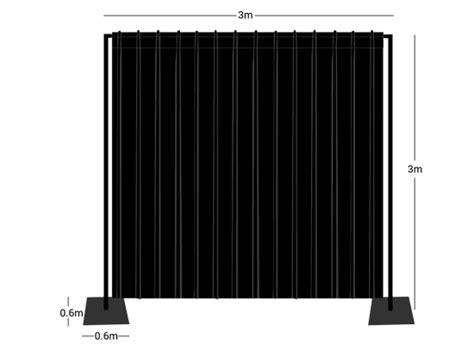 wentex pipe and drape wentex pipes drapes set backdrop 3x3m g 252 nstig
