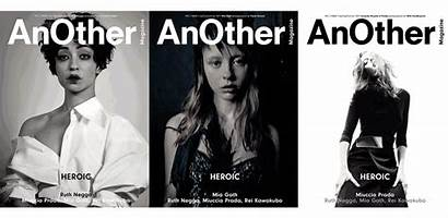 Magazine Another Issue Goth Ruth Negga Mia