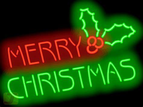merry christmas neon sign hs   jantec neon