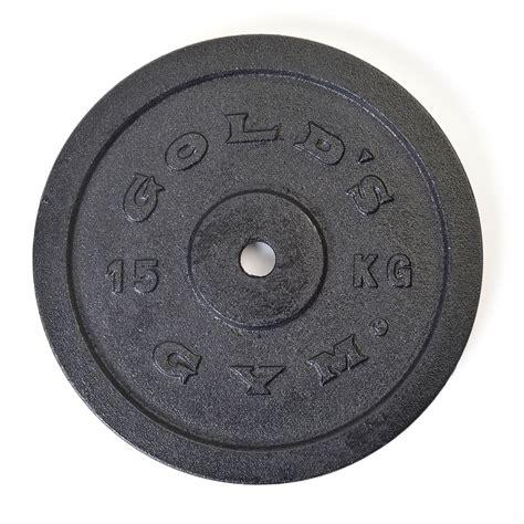 golds gym kg cast iron standard weight plate sweatbandcom