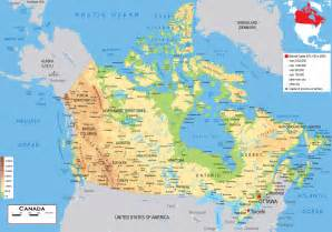 Canada Satellite Map
