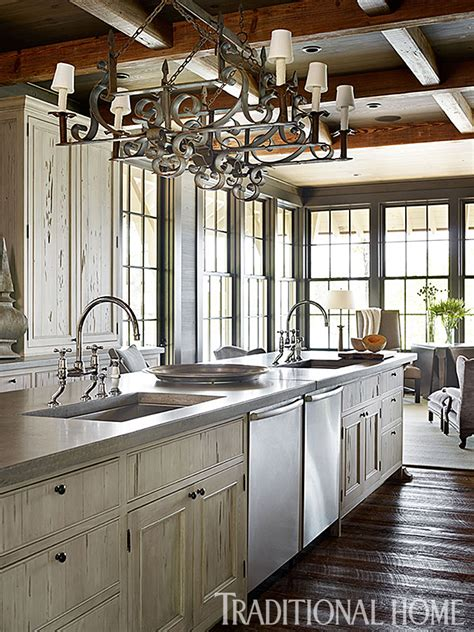 lakeside kitchen design kitchens designed for entertaining traditional home 3628