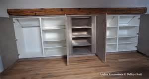 armoire sous combles atelier renaissance