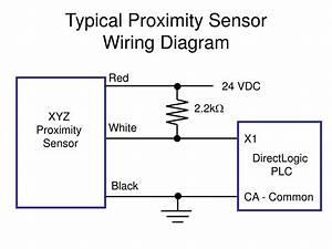 Ppt - Typical Proximity Sensor Wiring Diagram Powerpoint Presentation