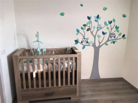 muurstickers kinderkamer oceaan bol stickerkamer muursticker boom grow tree oceaan