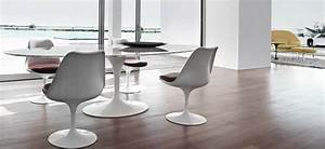 Table Ovale Design : la table ovale dessin e par eero saarinen et dit e par knoll ~ Teatrodelosmanantiales.com Idées de Décoration