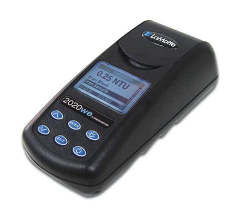portable turbidity meter kit water testing instrument gilson co
