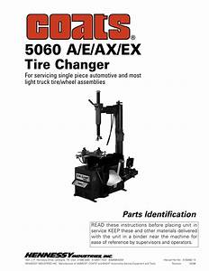 Coats Tire Machine Parts Diagram