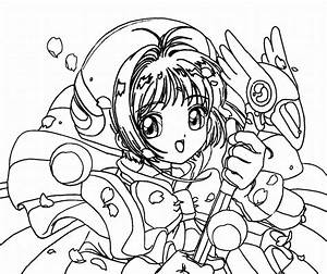 Cute Anime Coloring Pages Printables | Colouring Sheets ...