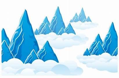 Mountain Vector Graphic Landscape Cloud Graphics Mountains