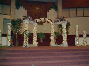 decorations for weddings columns for wedding decorations decoration