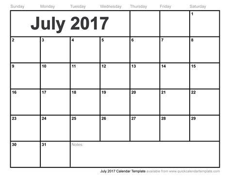 monthly calendar template 2017 july 2017 calendar pdf weekly calendar template