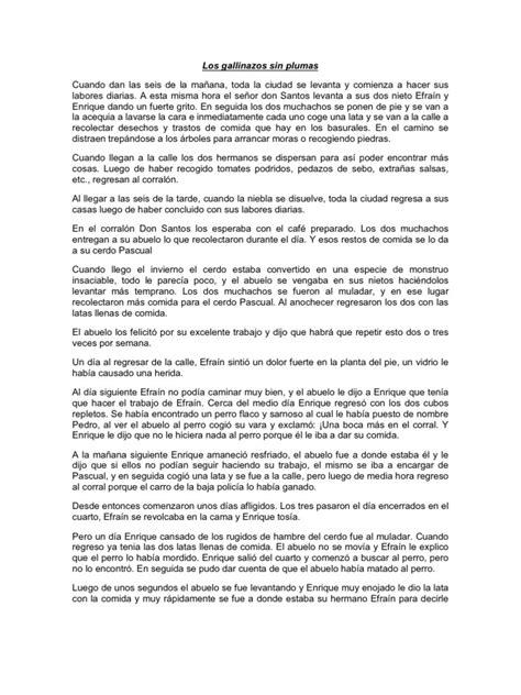 Karenina Resumen De La Obra by Los Gallinazos Plumas