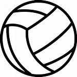 Volleyball Icon Transparent Ball Svg Beach Icons