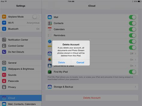 how to log into icloud on iphone how to safely delete or change an icloud account from