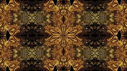 Pattern Mosaic Textures Surface Patterns Psychedelic Gold