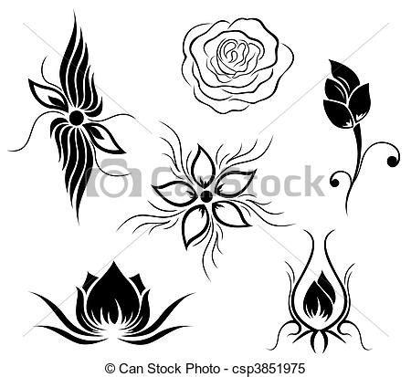 Fleurs Dessin Tatouage Ecosia