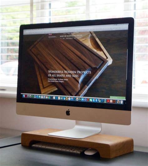 Imac Desk Mount Uk by 17 Best Ideas About Imac Desk On Monitor Stand