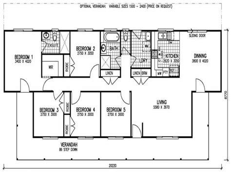 5 bedroom floor plan 5 bedroom 3 bath mobile home 5 bedroom mobile home floor