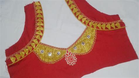 model blouse neck designs  diy latest blouse