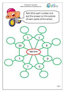 division worksheets no remainders adding 10 to a number big wheel addition maths worksheets for year 1 age 5 6