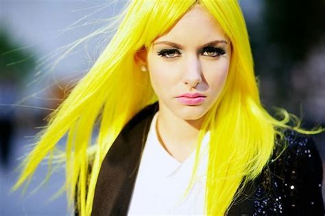 1000 Images About Yellow Hair On Pinterest Neon Yellow