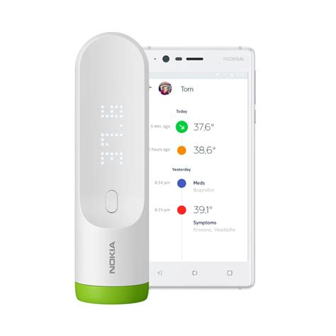 Product Of The Week Withings Smart Thermometer by Buy Nokia Thermo Instant Temporal Smart Thermometer