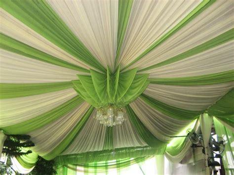 contoh tenda  bisa disewa  plafon kain cantik