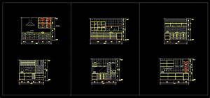 Kitchen Autocad Drawing At  | Free For ...