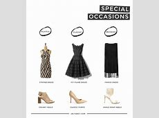 my capsule wardrobe for special occasions + how to build