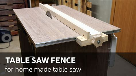 make a table saw table download video how to make a table saw fence for homemade