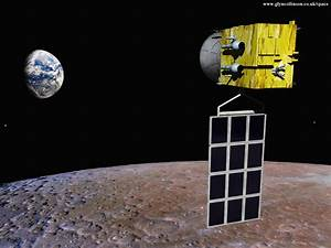 Clementine the Spacecraft On Moon - Pics about space