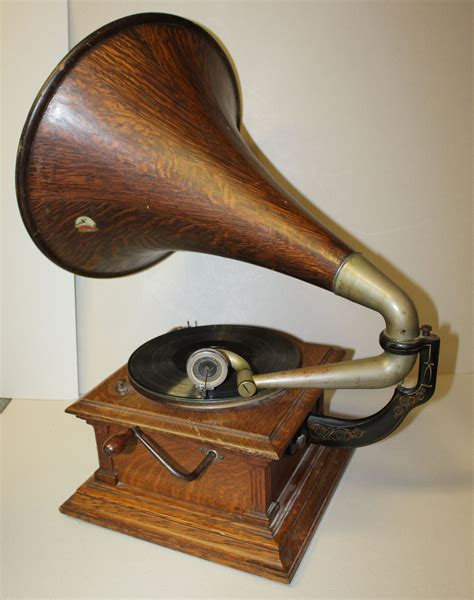 Bargain John's Antiques | Antique Oak Number 3 Victor ...