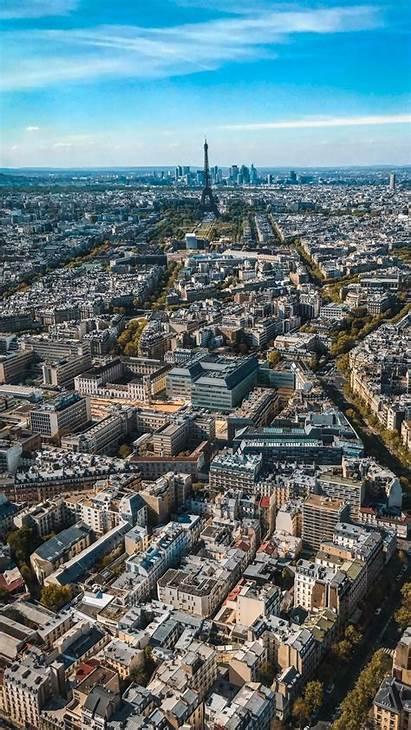 Buildings Aerial Architecture Paris France Parallax 6s