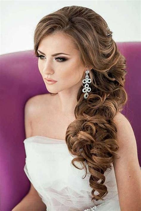 On One Side Hairstyles by 20 Best Collection Of Hairstyles To One Side