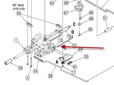 transmission diagram for troy bilt lawn mower