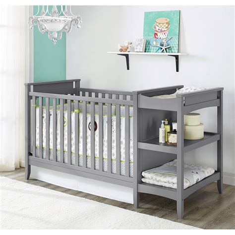 Baby Nursery Furniture by Baby Relax 2 In 1 Crib And Changing Table Combo