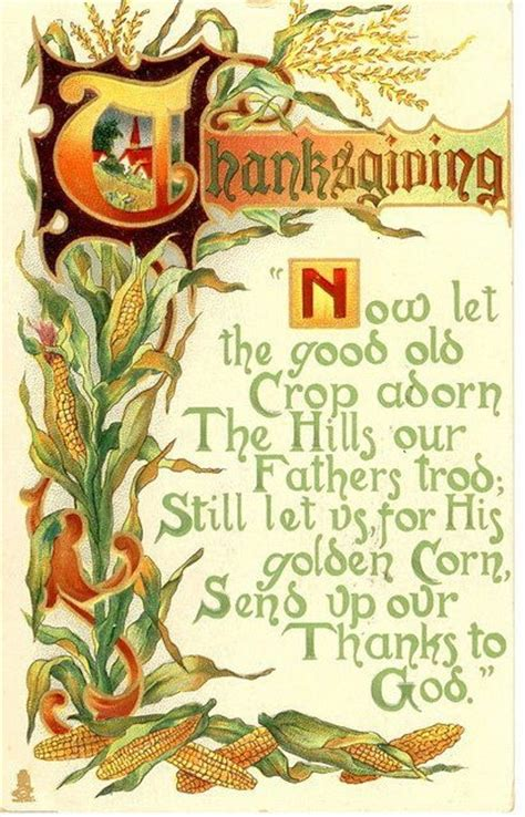 thanksgiving poems images  pinterest