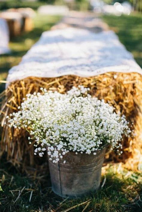 rustic country buckets tubs wedding ideas deer