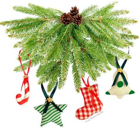 stuffed christmas tree pattern easy sewing pattern 6 stuffed fabric christmastree ornaments handmade ebay