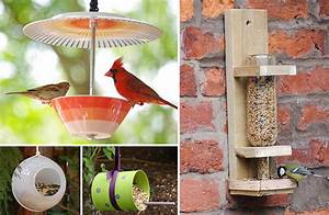 10 Creative DIY Bird Feeders The Garden Glove