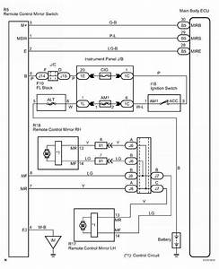 Window Switch Wiring Diagram Toyota