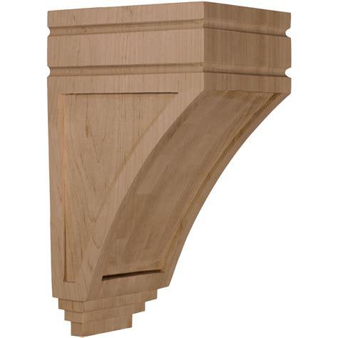 Oak Corbel by Ekena Millwork Corbel Oak Corw05x06x10sjro
