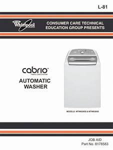 Whirlpool Cabrio Washer Repair Guide