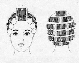 roller setting pattern hairstyles natural hair styles