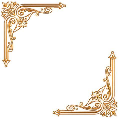 golden vintage frame border design images gold
