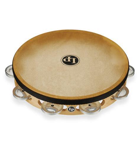 Tambourines are often used with regular percussion sets. LP® Pro Single Headed Tambourine - Aluminum   Latin ...