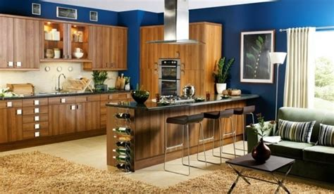 repeindre une table de cuisine en bois couleur peinture cuisine 66 idées fantastiques