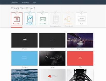 Visme Create Interactive Ppt Presentation Slideshow Step