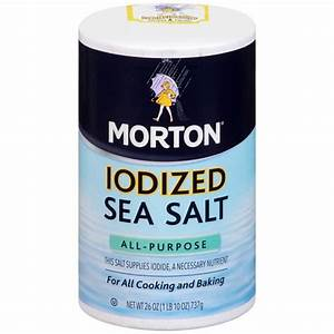 Image Gallery morton iodized salt